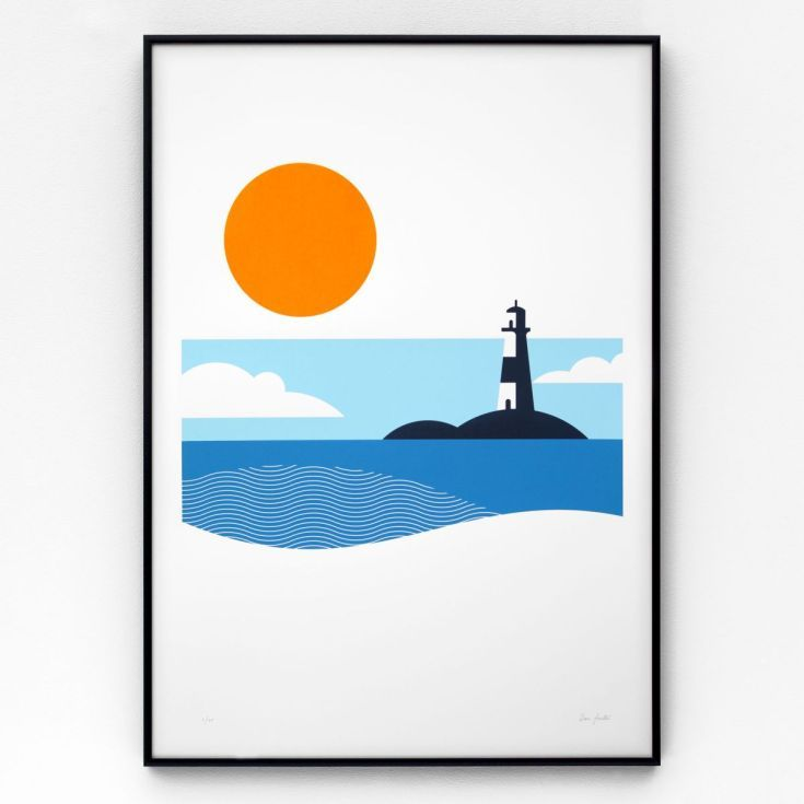 Lighthouse A2 limited edition screen print (2016)