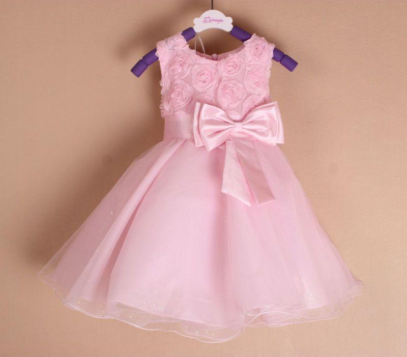 varejo vestido da menina de flor, vestido de gaze criança princesa ...