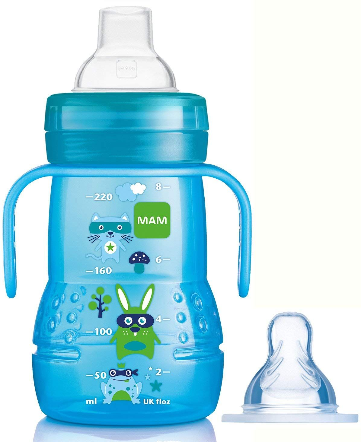 Tommee Tippee Closer to Nature Bottle Handles 2-Pack Green//Orange