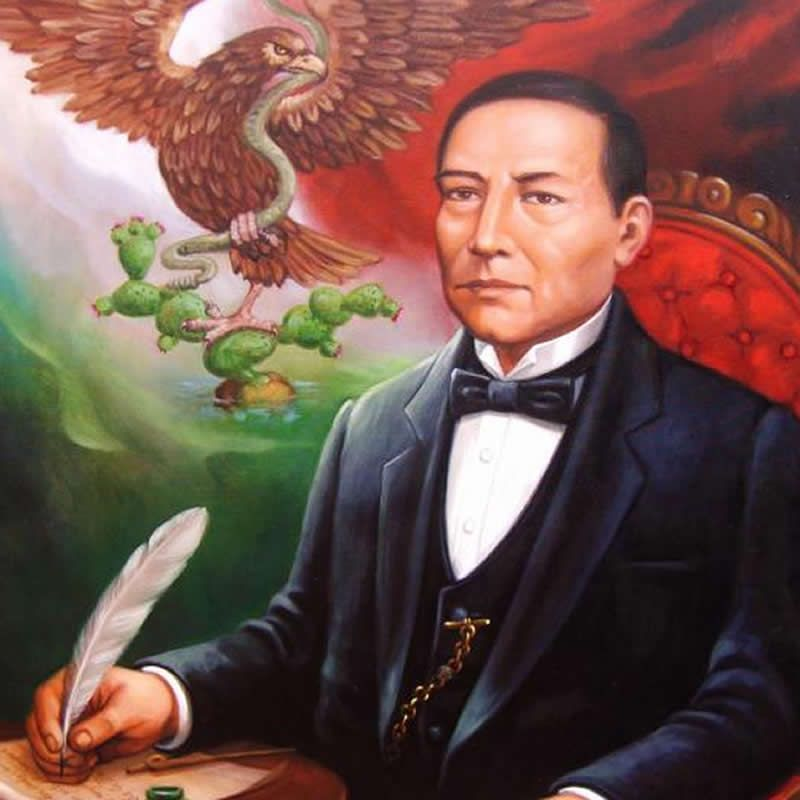 a biography of benito juarez a mexican leader Juárez's experiences in political life in oaxaca were crucial to his later success as a leader  as mexico city juárez benito juárez is  juarez, benito, on.