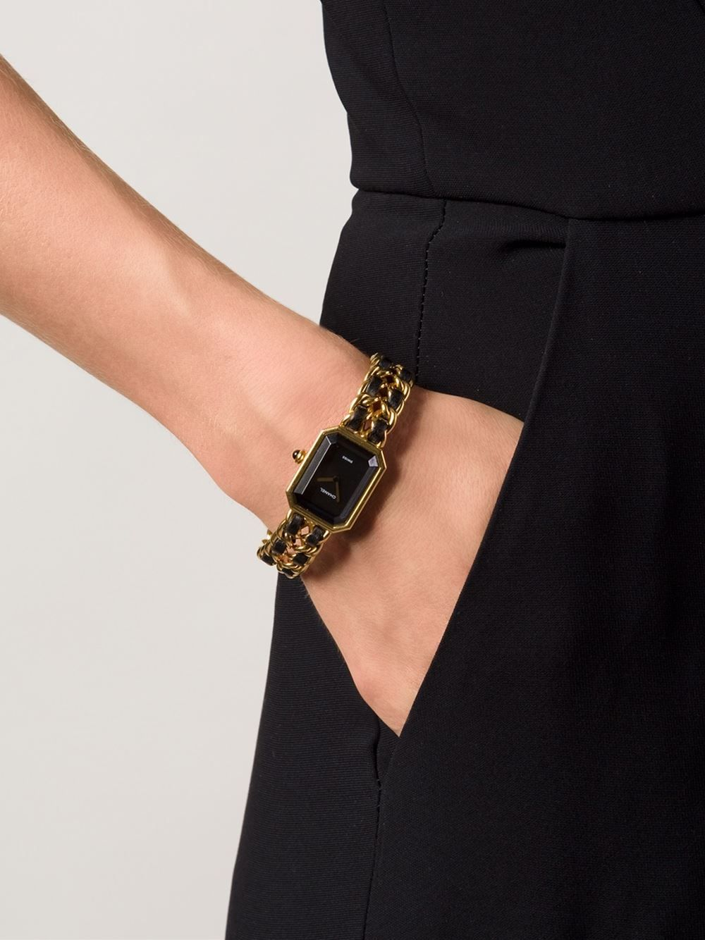 319e5d9be46 Chanel Vintage  premier  Watch - What Goes Around Comes Around - Farfetch .com