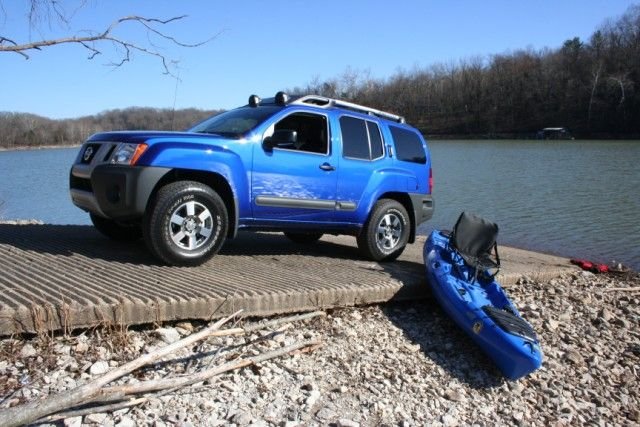 2012 nissan xterra pro 4x with jackson kayaks coosa. Black Bedroom Furniture Sets. Home Design Ideas