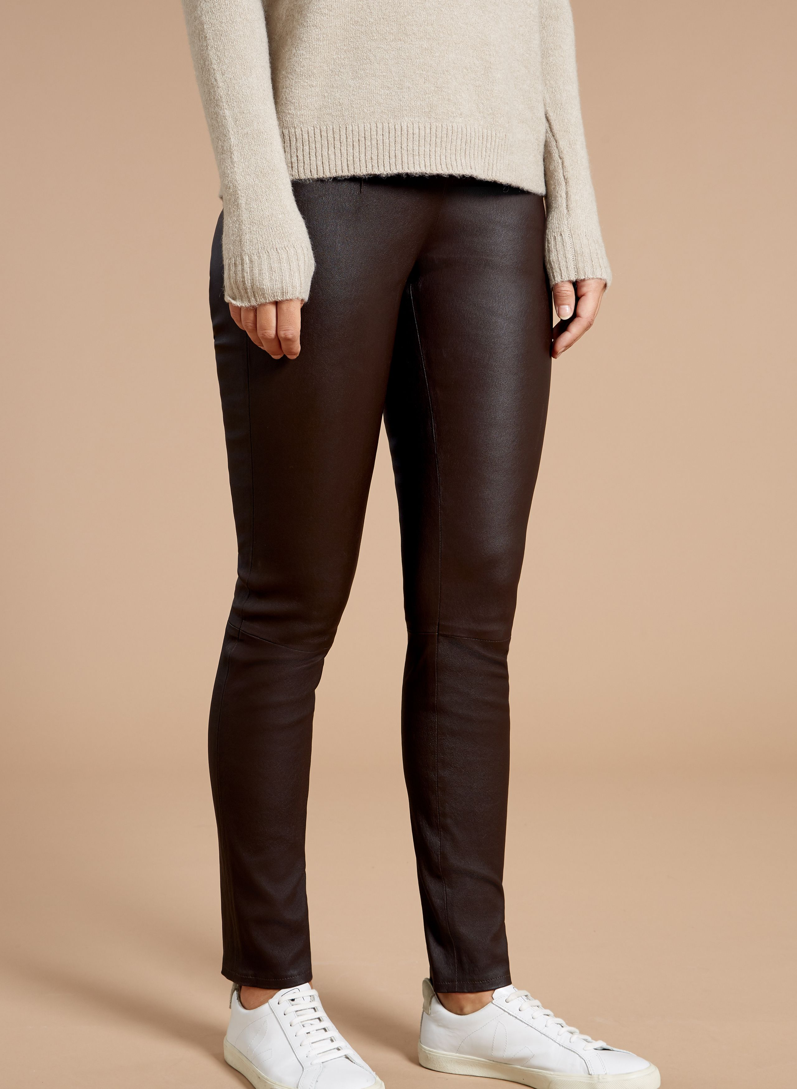 28f53279fe3ed Our Liv Leather Leggings are stalwart staples of our collection. Every  season