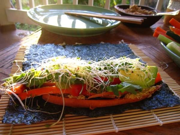 Raw Vegan Nori Wraps | Down to Earth Organic and Natural