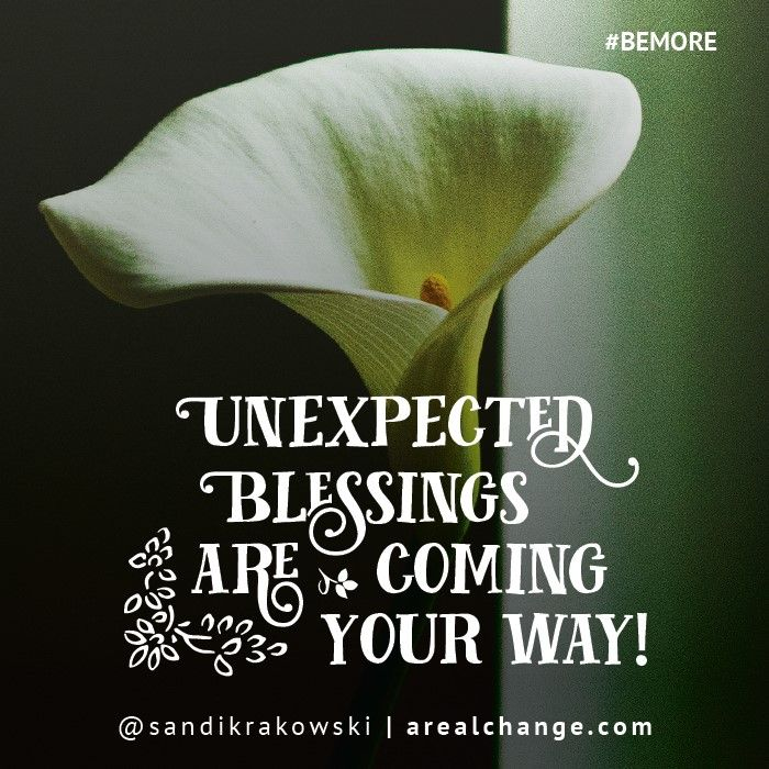 Good morning! Blessings are coming your way! I had a dream last night and saw things shifting, prayers answered!