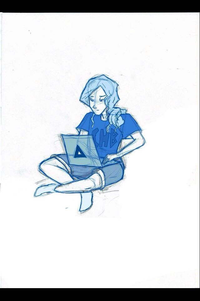 Daedalus Laptop Annabeth Chase Aesthetic Character