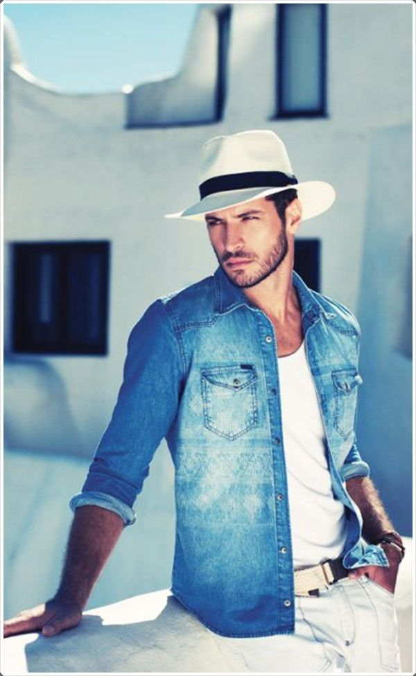 Denim Shirts For Men 80 Ways To Do It In Style Polo Mens