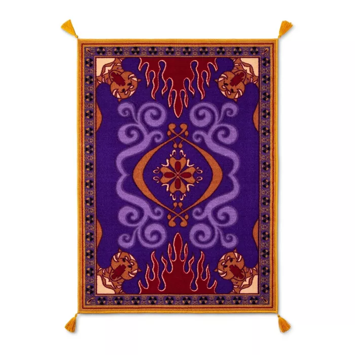 Aladdin 3 X4 Flying Carpet Rug In 2020 Rugs On Carpet Flying Carpet Aladdin Carpet