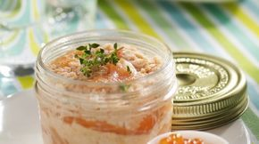 Rillettes de saumon #terrinedesaumon