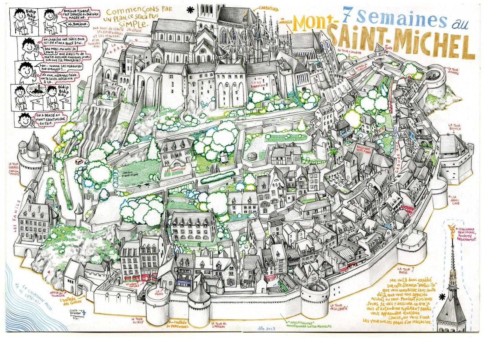 Antipodes Geographiques Mont Saint Michel Saint Michel