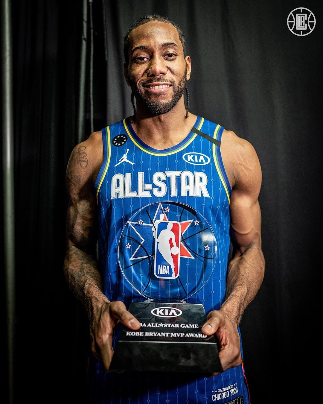 """LA Clippers on Instagram """"MVP. 🌟"""" in 2020 Nba players"""