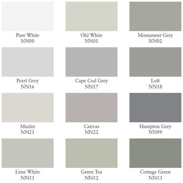 Farbpalette Wand: Farbtöne Übersicht - Verfkleuren