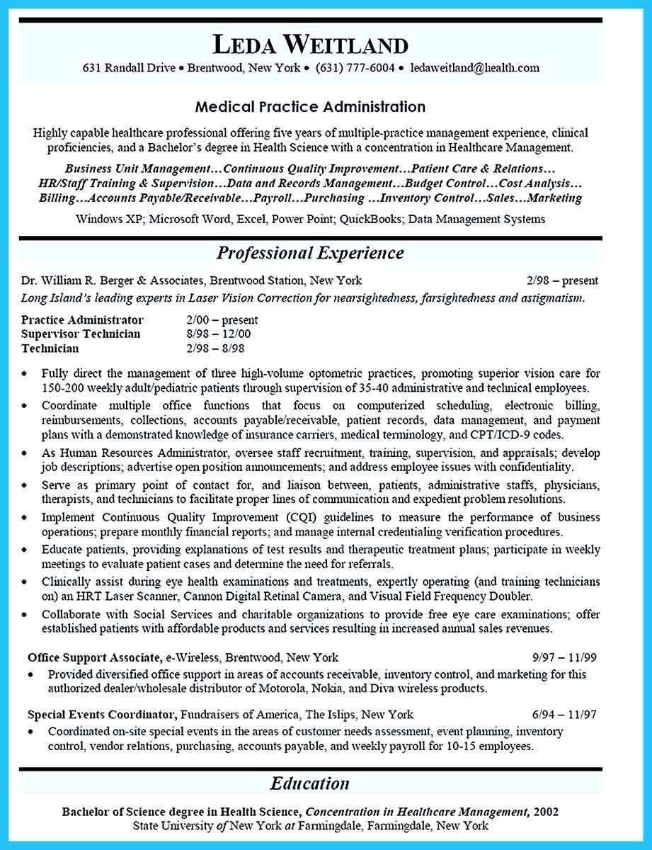 nice Attract Your Employer with Defined Administrator Resume