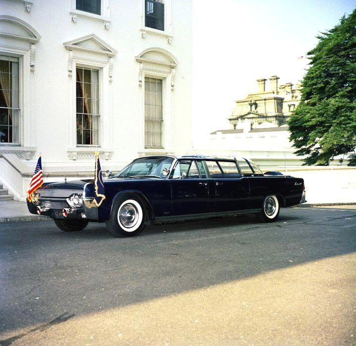 1961 Lincoln President JFK Limo X 100 KENNEDY CAR 1/24 ...