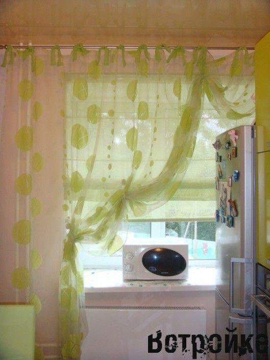 шторы для кухни фото дизайн 3