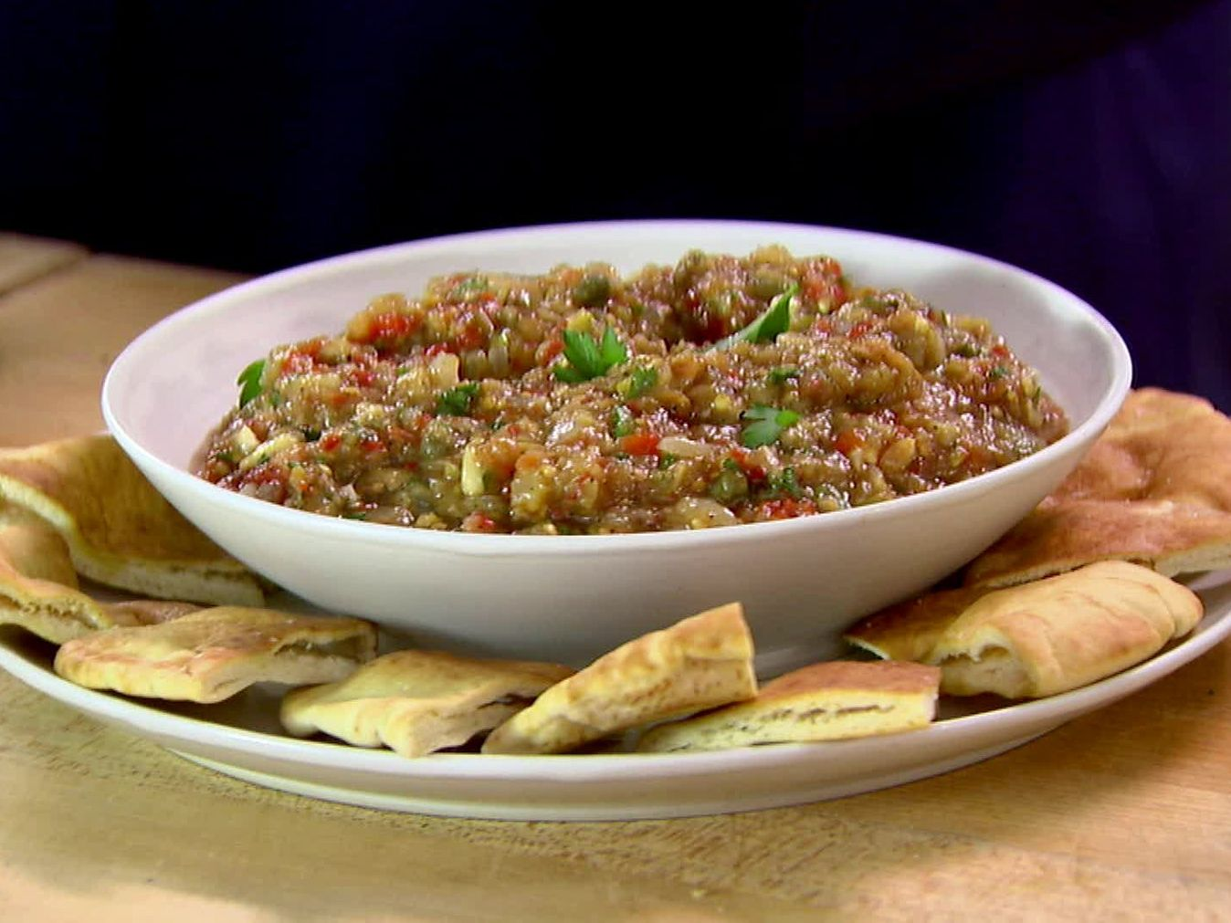 Roasted eggplant caponata recipe ina garten salts and Barefoot contessa recipes