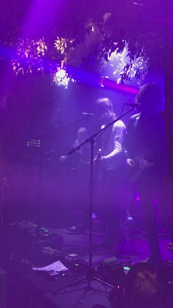 """NME On Twitter: """".@BlossomsBand On Stage At Futurehouse"""