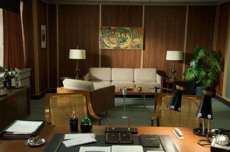Mad Men Furniture don draper's sterling-cooper office. | mad men | pinterest | dress