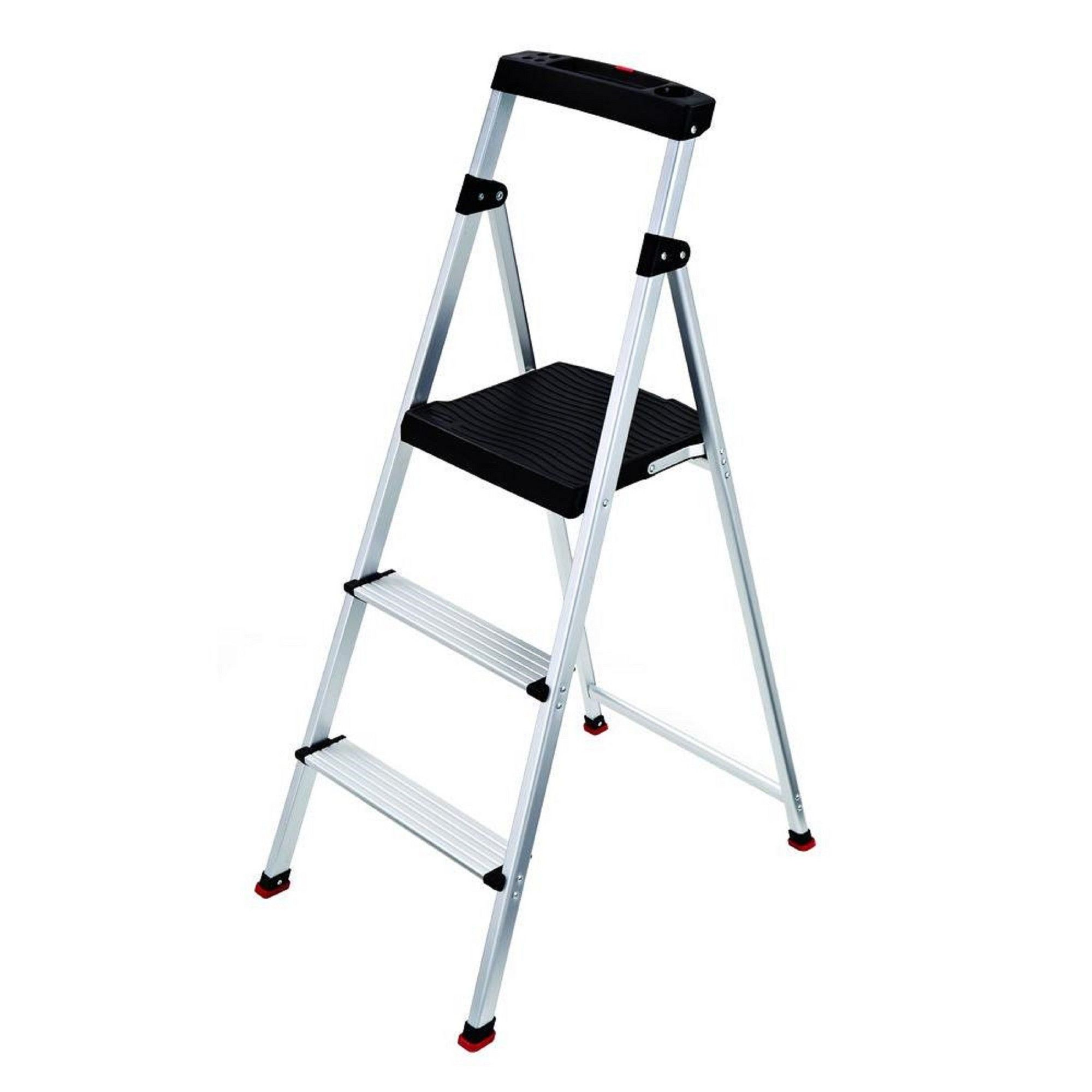 Groovy Rubbermaid Lightweight Aluminum Step Stool With Project Top Machost Co Dining Chair Design Ideas Machostcouk