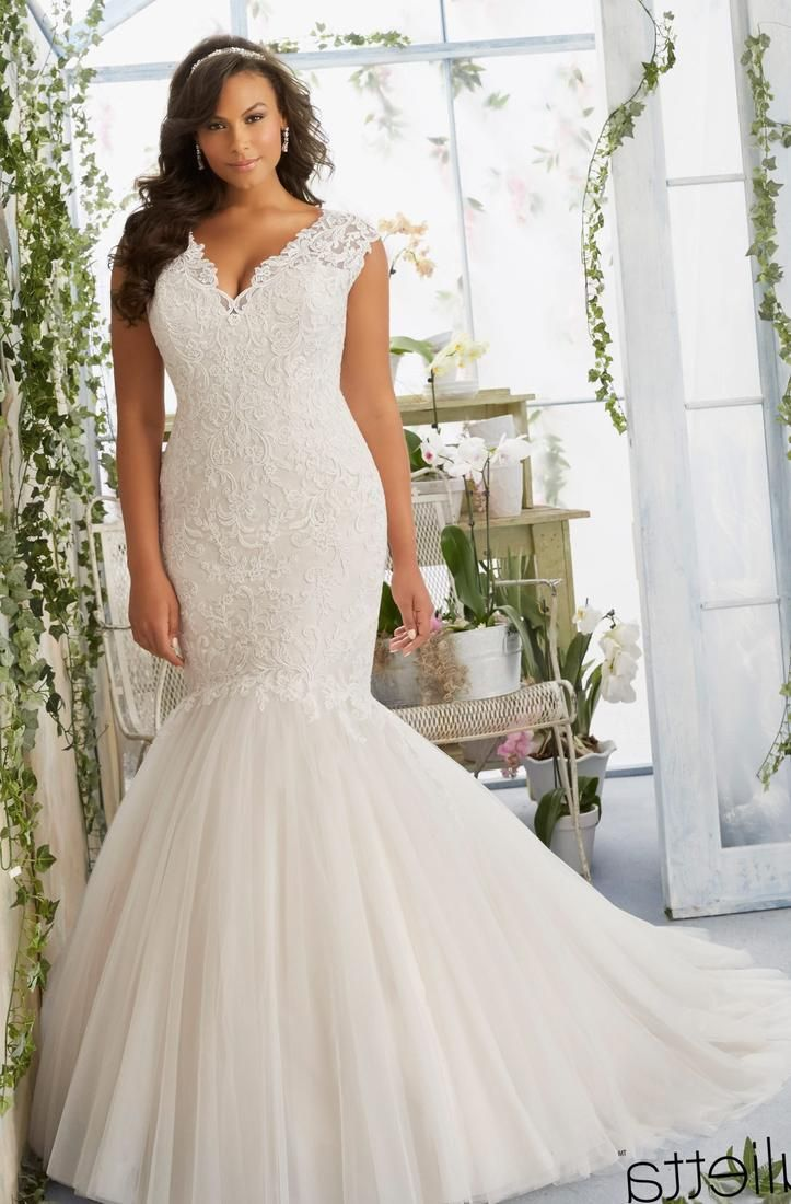 99 Fitted Plus Size Wedding Dresses