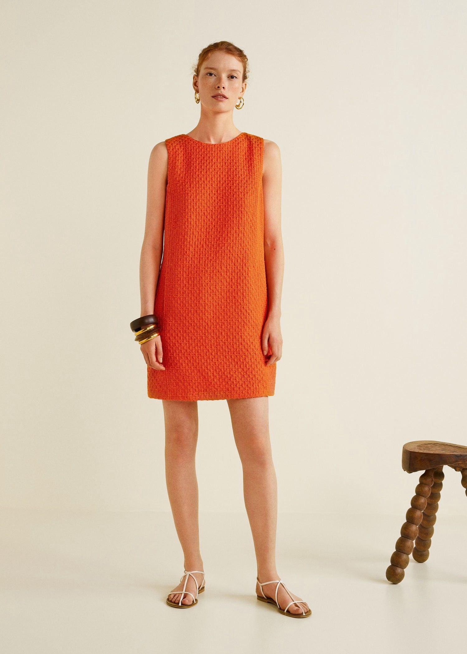 901d7fca38e0 Tweed dress by Mango