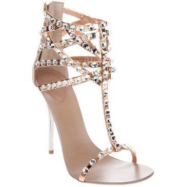 High Quality Giuseppe Zanotti Diamante Sandal, Bridal Heels From Maureen Morton