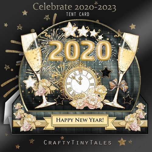 Celebrate 20202023 Tent Card Mini Kit, comes with 6