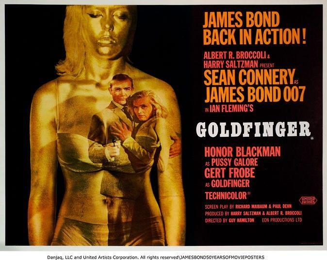 James Bond S Best Film Posters James Bond Movie Posters James
