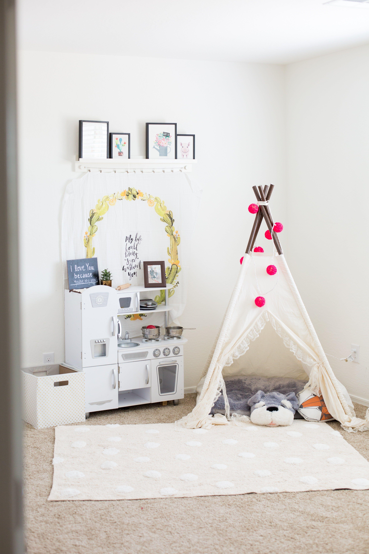new style efa8e a0853 Our Playroom Reveal   the garcia diaries   Playroom, Nursery ...