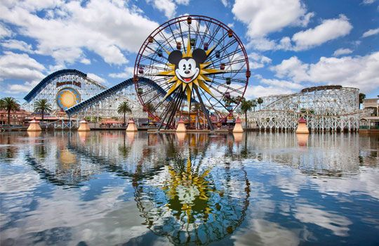Mickey's Fun Wheel, Paradise Pier, Disney California Adventure Park (Paul Hiffmeyer/© Disney)