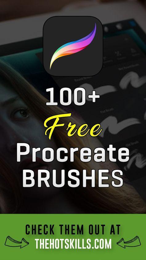 100+ Free Procreate Brushes