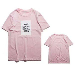 9599909f Simplicity at its finest! Grab one of Anti Social Social Club Box T-shirts!  #antisocialsocialclub #assc #classic #simple #boxlogo #pink