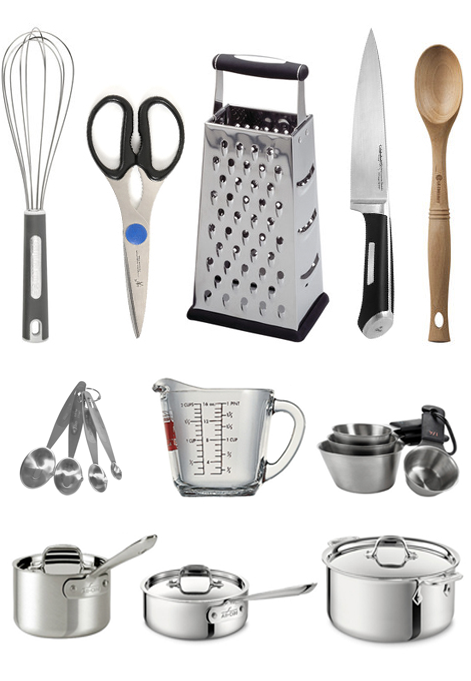 My top 20 must have kitchen tools kitchens apartments for Minimalist house essentials