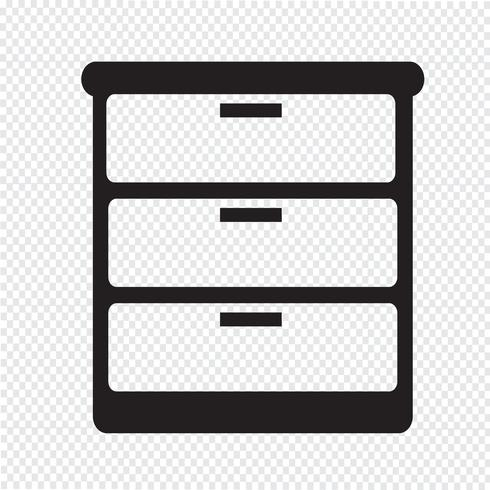 Wardrobe Icon Symbol Sign Tv Room Design Dressing Table Set Bedroom Scene