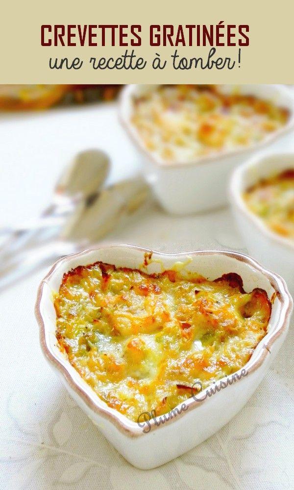 Crevettes gratinées #entreesrecettes