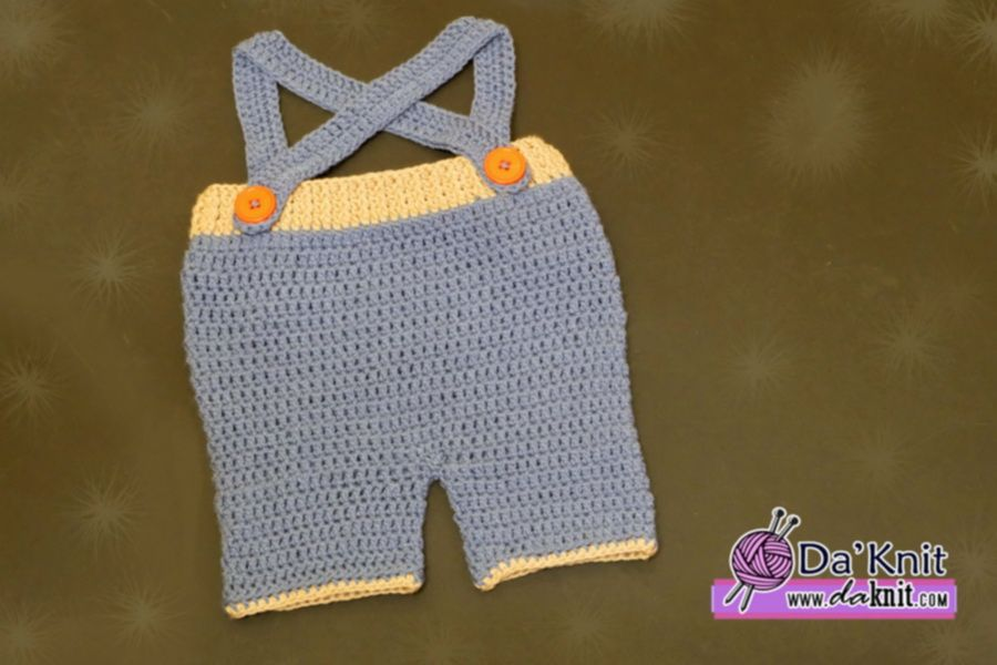 Crochet Baby Short Pants with Strap | Max | Pinterest | Mamelucos ...