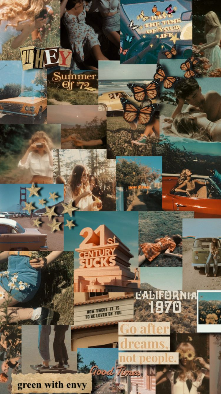 34+] aesthetic baddie wallpapers on. 'Vintage Collage ' Poster by lunervie | Edgy wallpaper ...