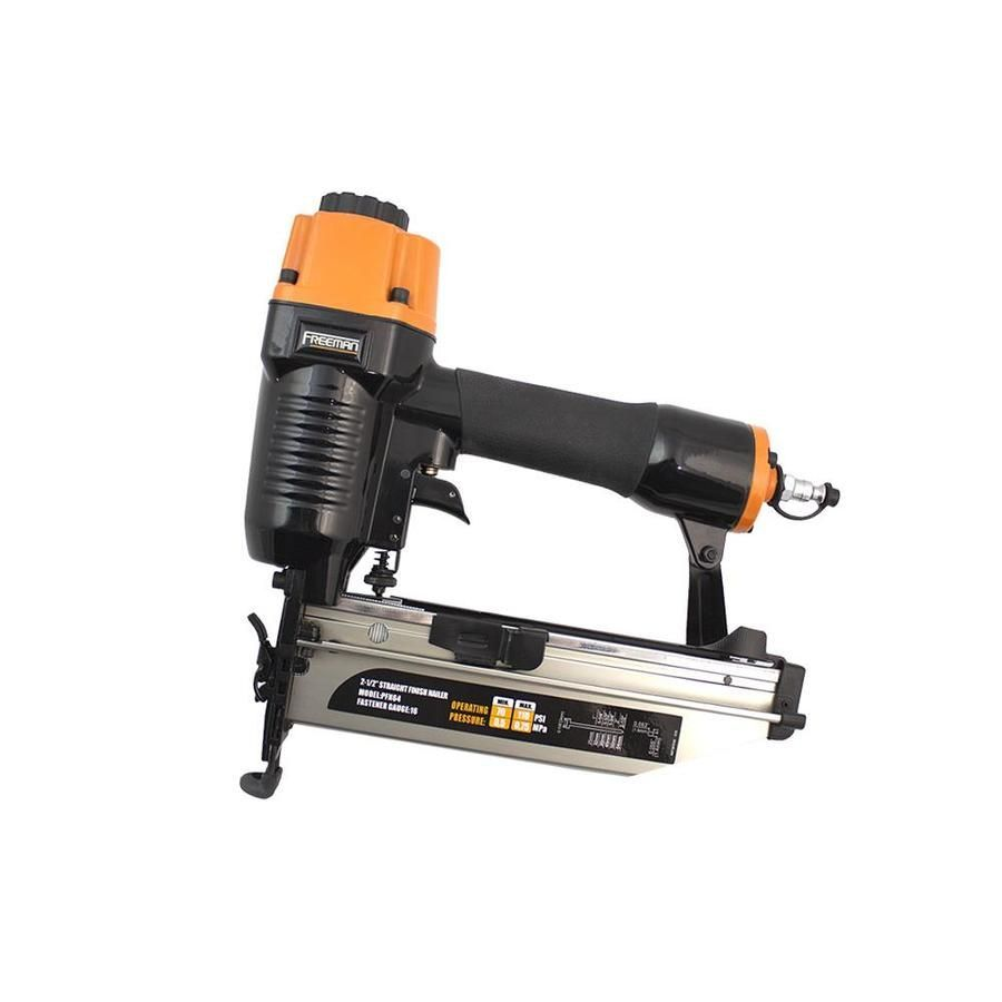 Freeman 2 5 In 16 Gauge Finish Pneumatic Nailer Pfn64 16gauge 25in Finish Freeman Nailer Pfn64 Pneumatic In 2020 Pneumatic Nailers Finish Nailer Nailer