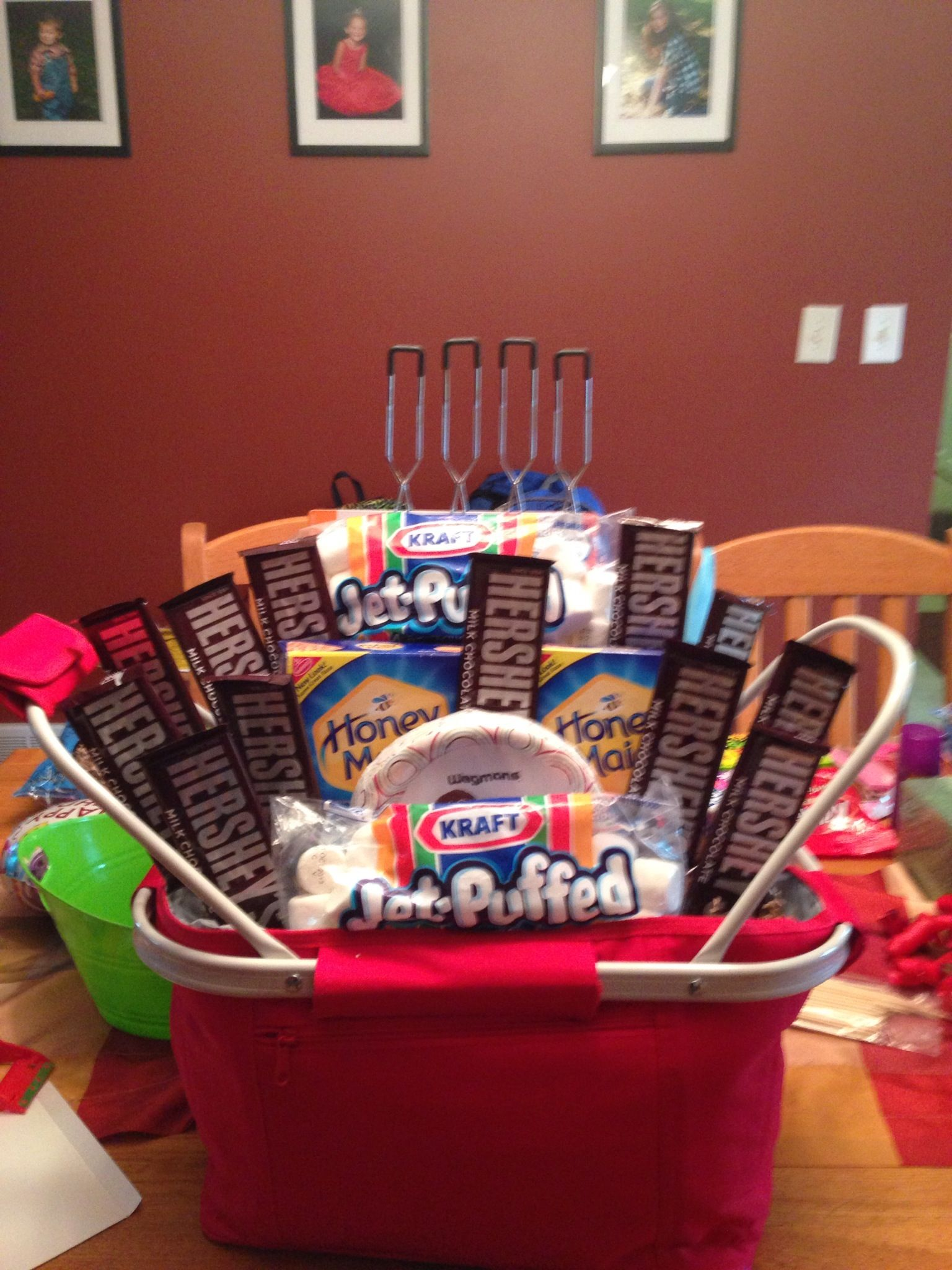 campfire basket. | my baskets! | pinterest | gift baskets, raffle