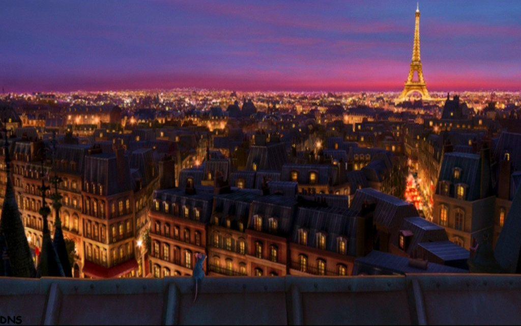 Ratatouille Paris Wallpaper By