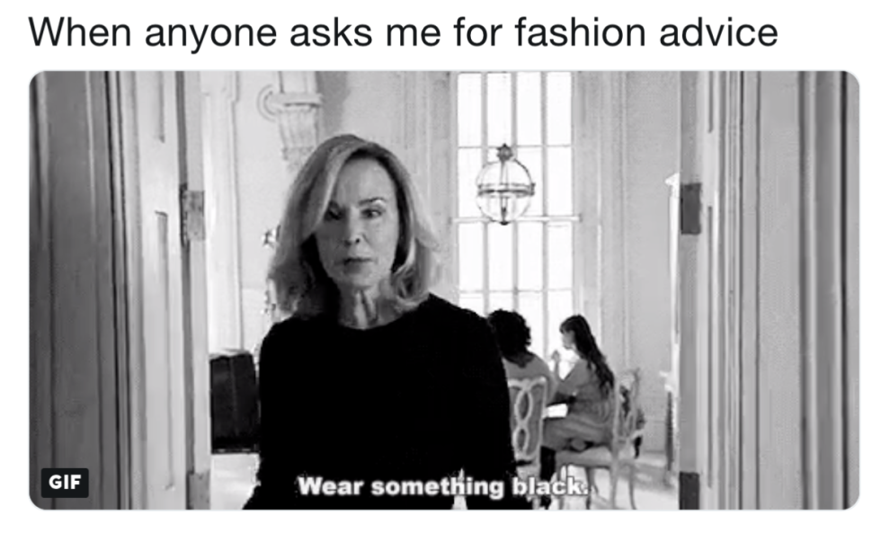 17 Memes You Ll Laugh At If You Only Wear Black Clothing How To