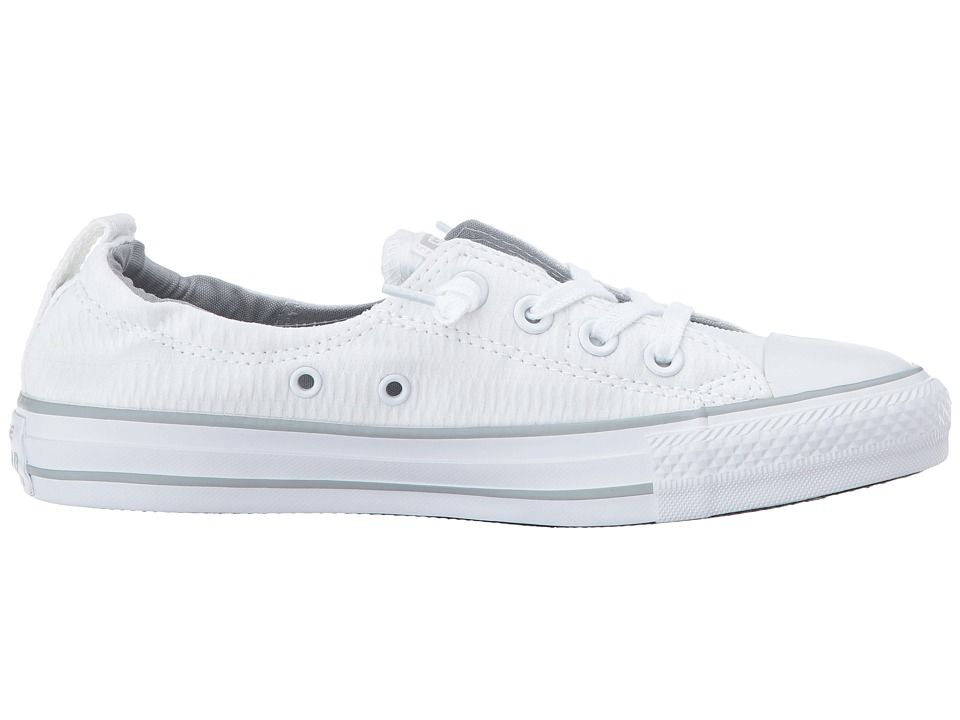 73228b964e86 Converse Chuck Taylor(r) All Star(r) Shoreline Slip-On Women s Slip on Shoes  White White Wolf Grey