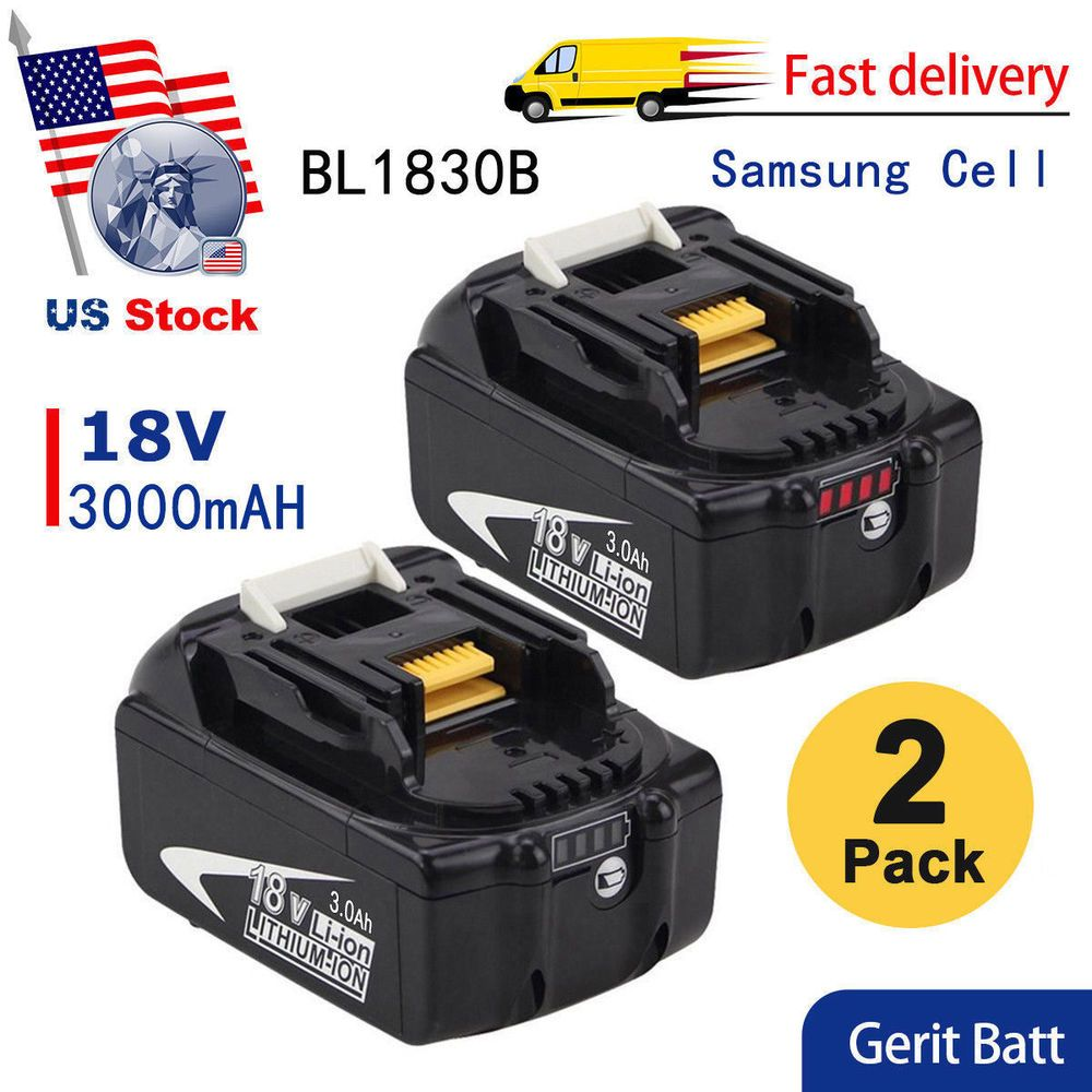 Replacement For Makita Bl1830b 18v Lxt Lithium Ion 3 0ah Battery Bl1860b Bl1850b Cordless Power Tools Power Tools Makita