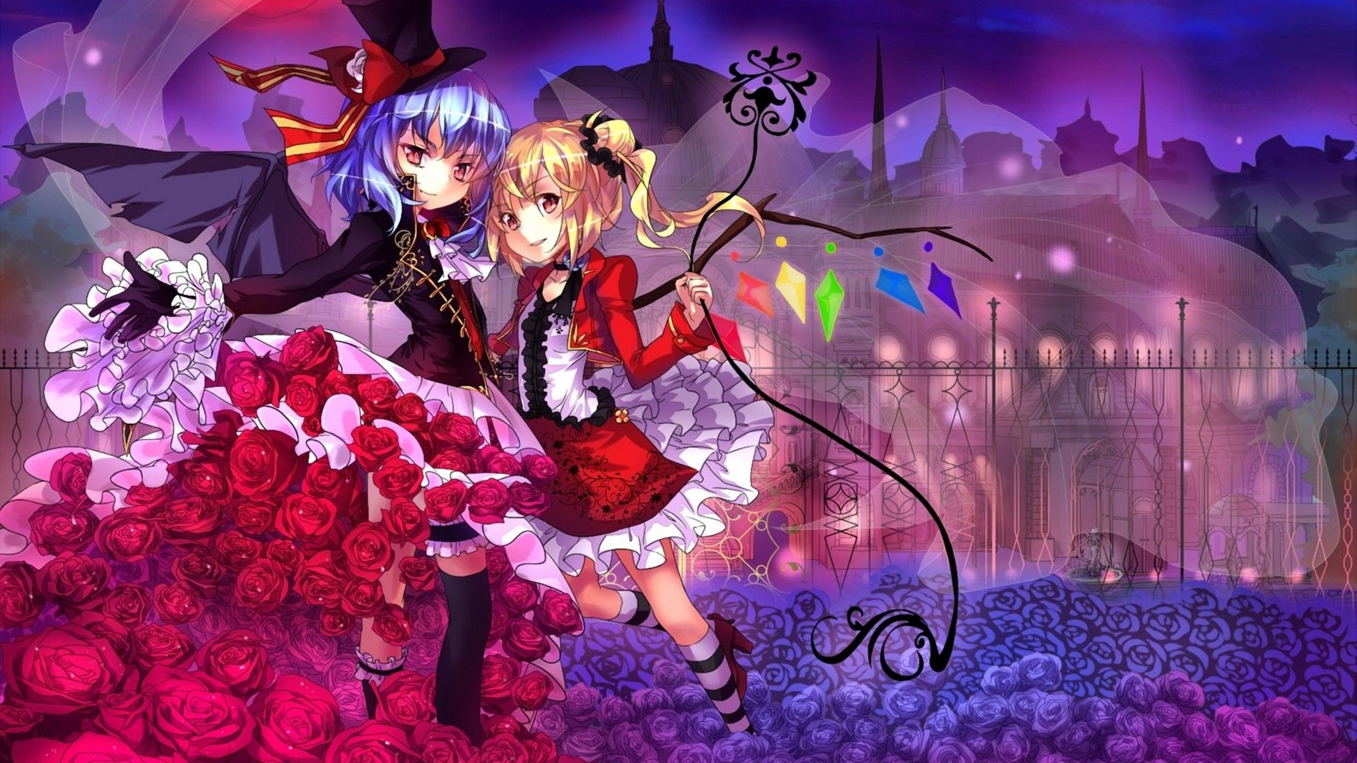 Wallpaper touhou resolution higher linux