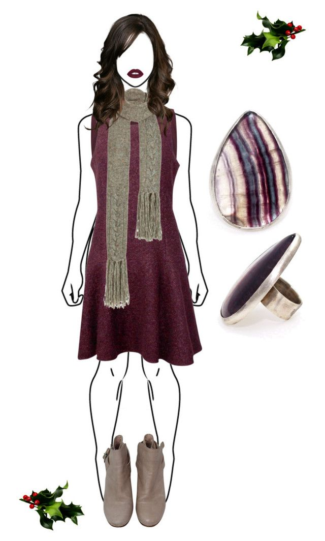 """""""Christmas Church Outfit #5"""" by mulberrymusefashion ❤ liked on Polyvore featuring Chan Luu"""