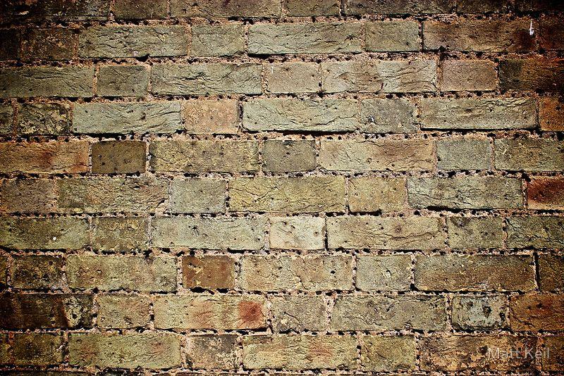 Brick Wall with Holes by Matt Keil