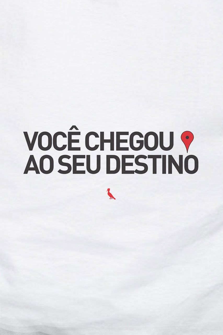 b9bcba69db Camiseta seu destino | Estampas maneiras | Frases, Frases de ...