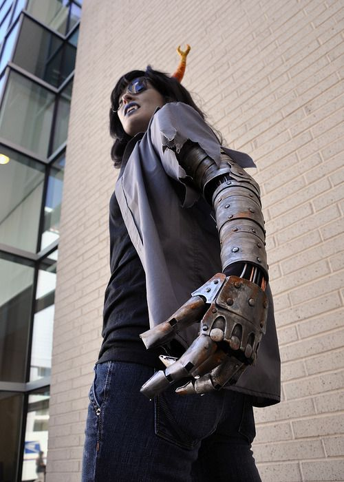 Tutorial For Metal Robotic Arm Homestuck Homestuck Cosplay