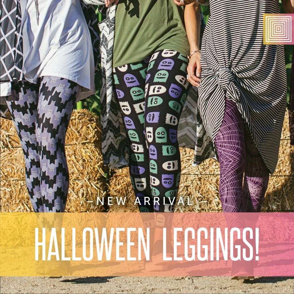 We've got Halloween leggings on the way!!! Super stoked ...