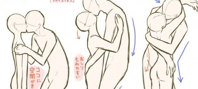 Tuto comment dessiner couple s embrasse difference taille le couple pinterest doodles - Dessiner un manga facilement ...